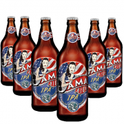 Cerveja DAMA Bier IPA 600ml ( 6 unidades )