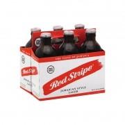 Cerveja Jamaicana RED STRIPE Lager 330ml ( 6 unidades )