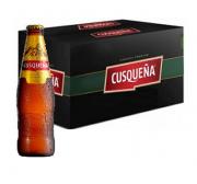 Cerveja Peruana CUSQUENA 330ml ( 24 unidades )