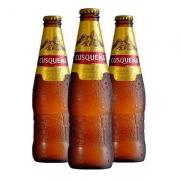 Cerveja Peruana CUSQUENA 330ml ( 3 unidades )