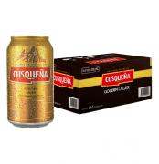 Cerveja Peruana Cusqueña 355ml lata ( 24 unidades )