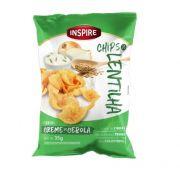 Chips de Lentilha INSPIRE Creme Cebola 35g
