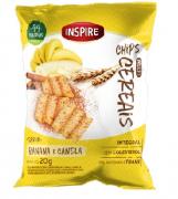 Chips Multi Cereais INSPIRE Banana e Canela 20g