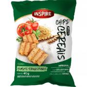 Chips Multi Cereais INSPIRE Tomate Ervas finas 40g