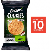 Cookies BELIVE Coco ZERO Display 10x34g
