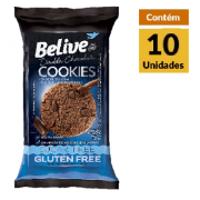 Cookies BELIVE Double Chocolate ZERO Display 10x34g