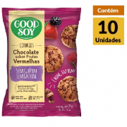 Cookies GOODSOY Frutas Vermelhas Display 10x33g