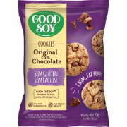 Cookies Integrais GOODSOY com Chocolate Display 10x33g