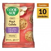 Cookies Integrais GOODSOY Maca & Canela Display 10x33g