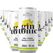 EASY BOOZE Lata Gin+Tônica 269ML (12 unidades)