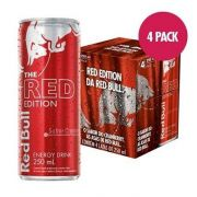 Energético Red Bull Red Edition 250ml ( 4 unidades )