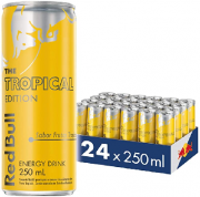 Energético Red Bull Tropical 250ml (24 unidades)