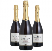 Espumante Demi Sec Salton 750ml ( 3 garrafas )