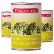 Fundo de Alcachofra Paganini 210g (3 unidades)
