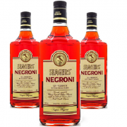 Gin SEAGERS Negroni 980ml (3 unidades)