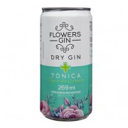 Gin Tônica FLOWERS Limão Lata 270ml