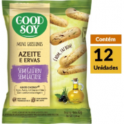 Grissini Azeite & Ervas GOODSOY Display 12X30g