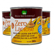 Kit 3 Doce de Leite Zero Lac Zero Açr S LOURENÇO 330g