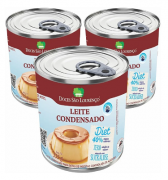 Kit 3 Leite Condensado diet SÃO LOURENÇO 335g