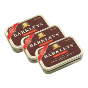 Kit 3 und Bala BARKLEY'S Chocolate Mints 50g