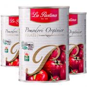 Kit 3 Und Tomate Pelado Orgânico LA PASTINA 400g