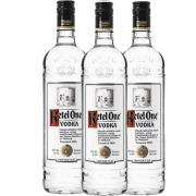 kit 3 und VodKa Holandesa KETEL ONE 1 Litro
