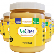 Kit 5 und VeGhee com sal do Himalaia 200g