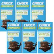 Kit 6 Chocolate Whey Sem Culpa CHOCK 75g