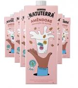 Kit 6 und Leite de Amêndoa NATUTERRA 1 Litro