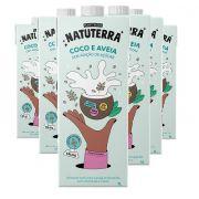 Kit 6 und Leite de Coco e Aveia NATUTERRA 1 Litro