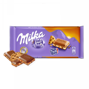 Milka Chocolate ao Leite Chips Ahoy 100g