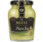 Mostarda Francesa MAILLE com Pimenta Verde 215g