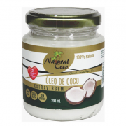 Oleo de Coco NATURAL COCO Pote 200ml
