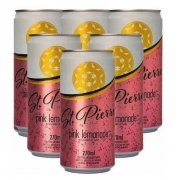 6X Tônica Pink Lemonade ST PIERRE Lata 270ml
