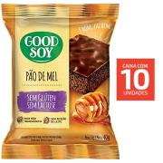 Pao de Mel GOODSOY Zero Gluten Zero Lact 10x40g