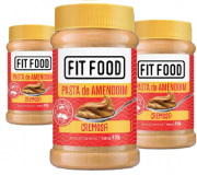 Pasta de Amendoim Cremoso FIT FOOD 450g (3 und)
