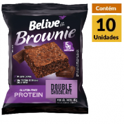 Protein Brownie Double Chocolate BELIVE 10x40g