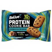 Protein Cookie Bar Castanha-de-Caju com Chocolate Belive 10x48g
