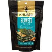 Snack KALASSI Seaweed Crisps Almond Sesame 25g