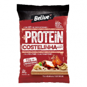 Snack Protein Costelinha ao Barbecue Belive 55g