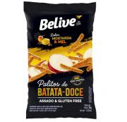 Snacks Batata Doce Mostarda Mel 35g Belive