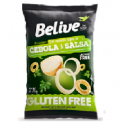 Snacks BeLive Sabor Cebola e Salsa 35g