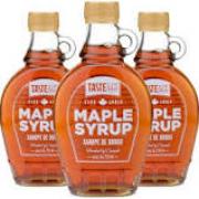 Xarope de Maple TASTE & CO 250ml (3 unidades)