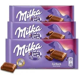 3x Chocolate MILKA Dark Extra Cocoa 100g
