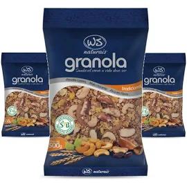 3x Granola Tradicional WS NATURAIS 500g