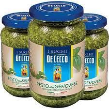 3x Molho Pesto Alla Genovese DE CECCO 200g