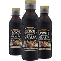 3x Molho PONTI Glassa Gastronômica 250g