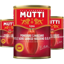 3x Tomate Pelado MUTTI Lata 400g
