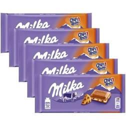 5x Milka Chocolate ao Leite Chips Ahoy 100g