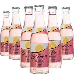 6x Tônica Pink Lemonade ST PIERRE Long Neck 200ml